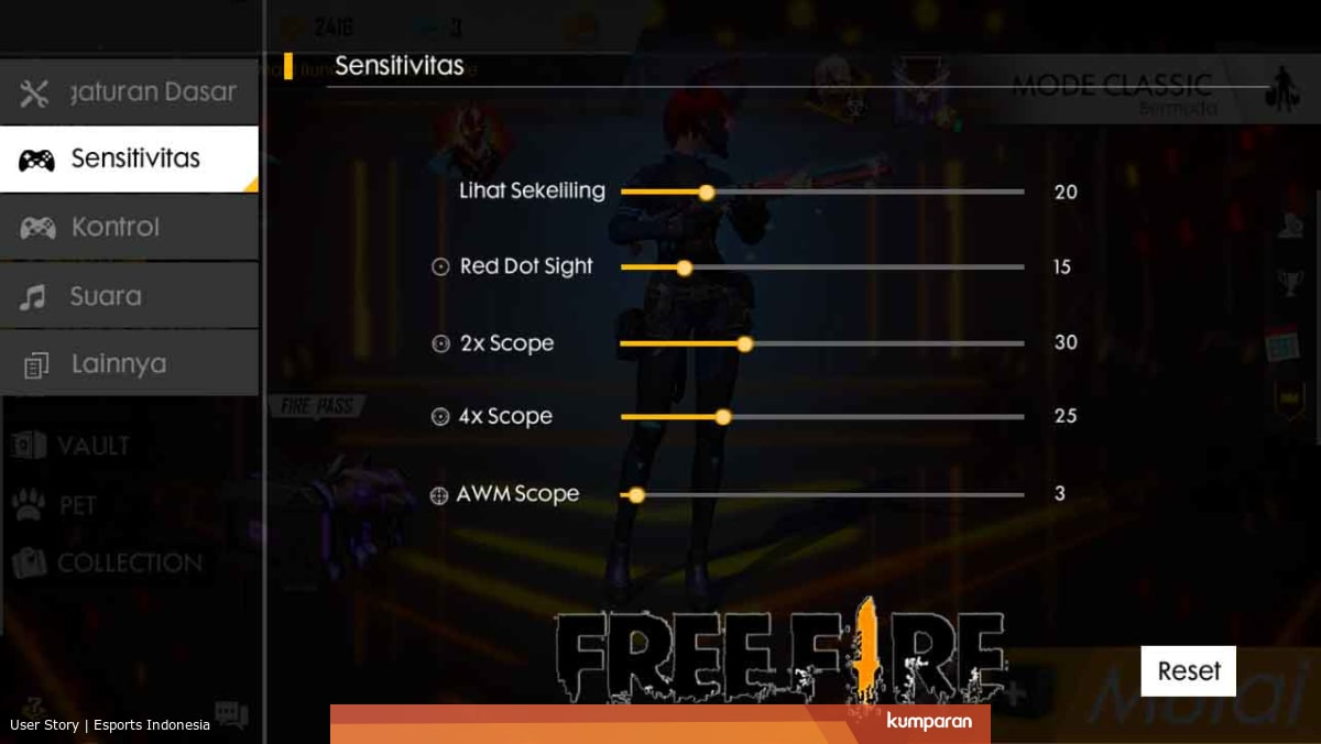 Tips Bermain Free Fire 100% ampuh